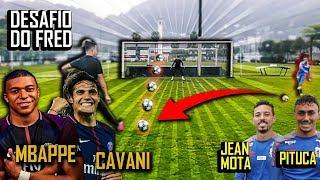 Tamô de volta à Baixada Santista e o que o Desafio de hoje tem de dahora tem de responsa: o Fred convidou o Diego Pituca e Jean Mota, jogadores do Peixe, pra reproduzir o desafio feito pelo Cavani e Mbappé, do Paris Saint-Germain. E o resultado desse encontro você confere agora, mlkin!   Segue a gente no Insta: http://bit.ly/2Sb4vbT  COMPRE O ALMANAQUE DESIMPEDIDOS  Amazon - https://amzn.to/2NPe0uL Livraria Curitiba - http://bit.ly/2LmDIFw Panda Books - https://bit.ly/2NQiWQ7  Este é o canal Desimpedidos. Pra quem ama futebol e zueira sem  limites, aqui  seu time é pequeno, o Paulo Baier é deus e o Cristiano Ronaldo é só mais um.   CONTATO: contato@desimpedidos.com.br / imprensa@nwb.com.br  --------------------------  Experimente 1 mês grátis do banco de trilhas Epidemic Sound: http://bit.ly/epidemicnwb  -------------------------  Segue a gente no IG: @desimpedidos / @nwb.oficial