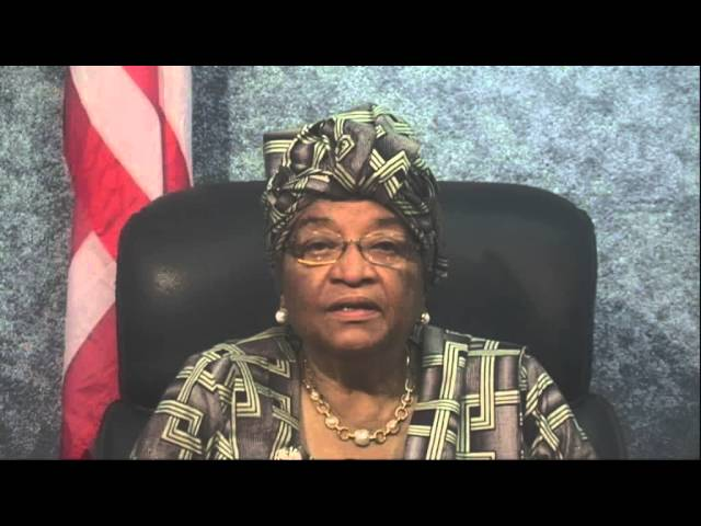 Liberian President Ellen Johnson Sirleaf at Global Philanthropy Forum 2013