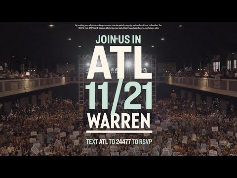 Video thumbnail for Roxane Gay previews Elizabeth Warren's event in Atlanta, Georgia