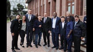 """Конвенция Всемирного Боксерского Совета (WBC)  в Баку. Программа """"Бокс  в лицах"""""""