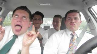 "LDS missionaries lip syncing ""Jesus is a friend of mine"""