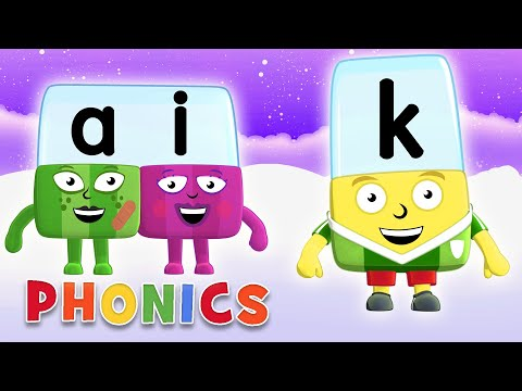 Phonics - Learn to Read | K is for Kind Letters | Alphablocks