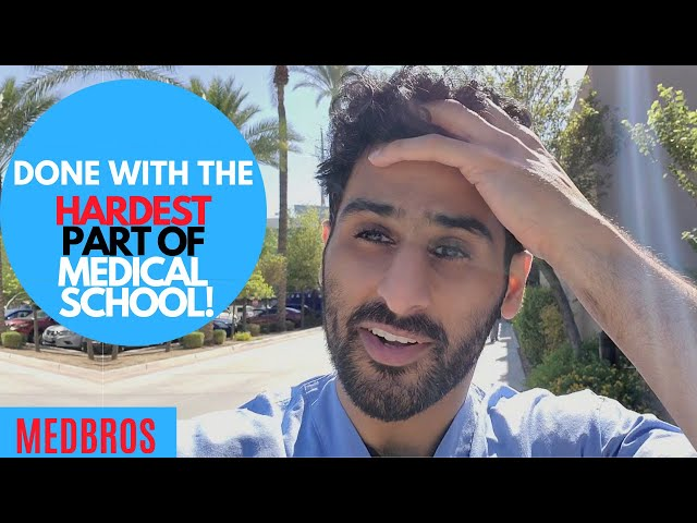 DONE with the HARDEST part of MEDICAL SCHOOL VLOG | MedBros