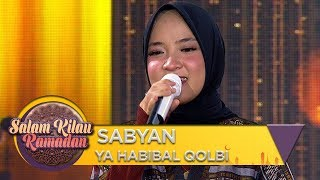 Penonton Semua Nyanyi SABYAN [YA HABIBAL QOLBI]   Salam Kilau Ramadhan (55)