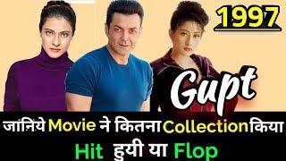 Bobby Deol GUPT The Hidden Truth 1997 Bollywood Movie Lifetime WorldWide Box Office Collection
