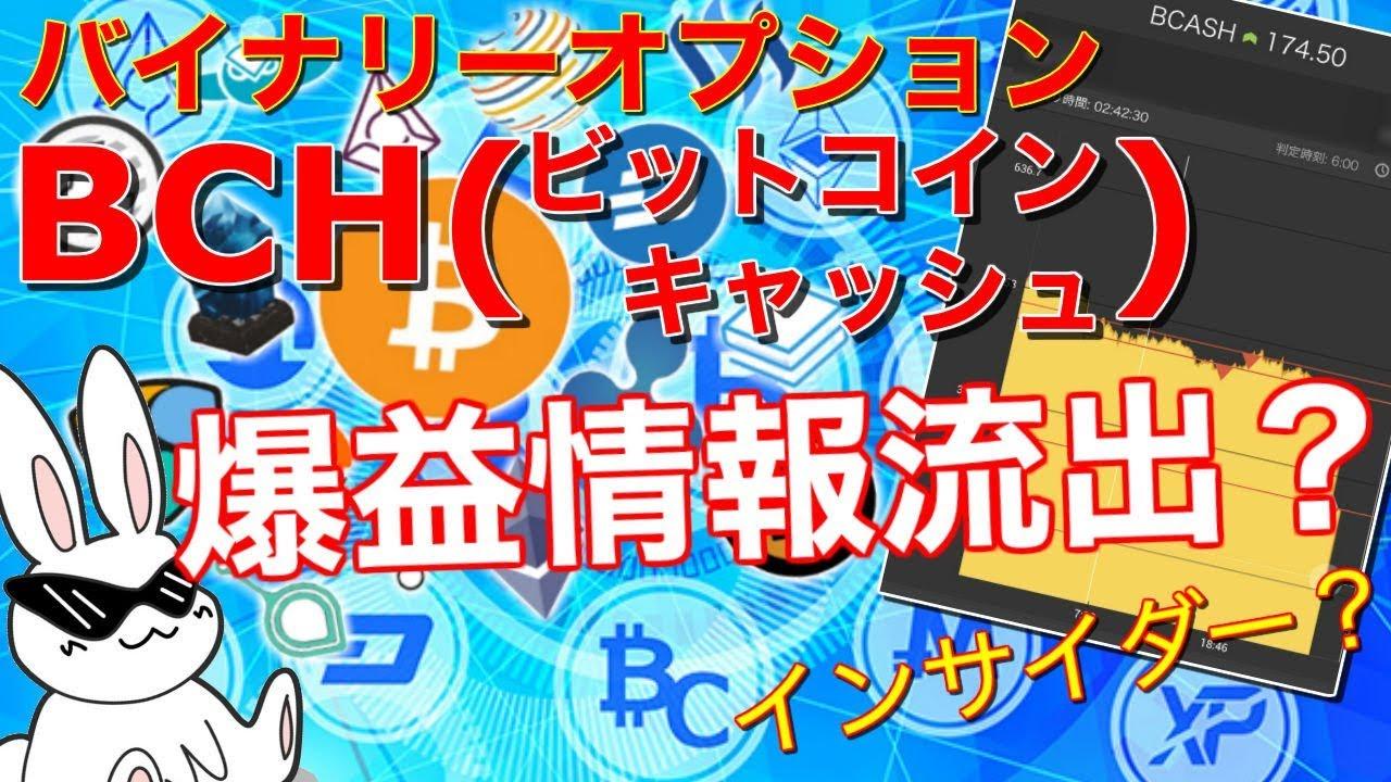 【バイナリーオプション】仮想通貨のBO必勝法⁉BCH(ビットコインキャッシュ)ハードフォークで爆益? #ビットコインキャッシュ #BCH