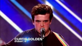 Curtis Golden's audition   Christina Aguilera's Candyman   The X Factor UK 2012