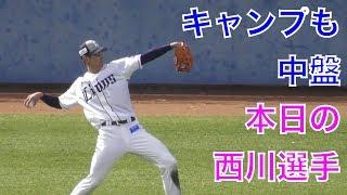 朗報西川愛也選手、リハビリ順調!キャッチボール再開!西武ライオンズ春野キャンプ2018