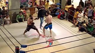 MMA MATCH ATRIUM MALL KARACHI    UNDERTAKER PAK vs BROCK LESNOR PAK  BEST OF 3