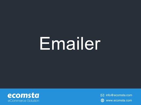 Emailer - eCommerce Script