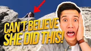 Can't believe she did this!! (SCARED ME)