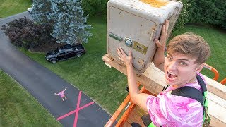 DROPPING ABANDONED SAFE!! - Video Youtube