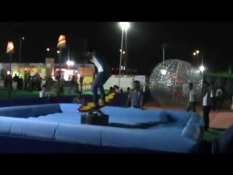 Mechanical Surfing Amusement Game