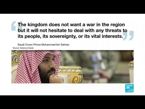 Saudi Arabia blames Iran for tanker attacks but does not want war