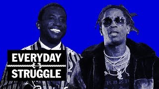 Everyday Struggle - 'Slime Language' Projections, Should Album Sales Be Private? Gucci's Catalog