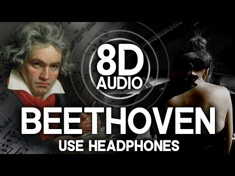 AUDIO 8D: Beethoven - Moonlight Sonata - USE HEADPHONES!