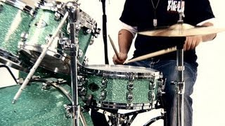 How to Play Basic Rock Drum Beats | Drumming