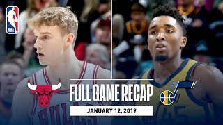 Full Game Recap: Bulls vs Jazz | Mitchell Leads UTA
