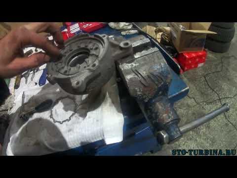 Замена турбины форд S-max чистка геометрии