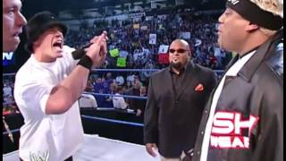 Wrestlevessel Exclusive: Rikishi vs John Cena Hip Hop Challenge Smackdown December 5, 2002
