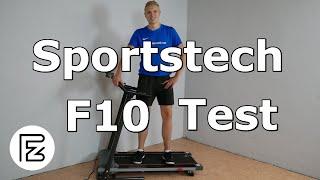 Sportstech F10 Laufband im Test - das geht besser!