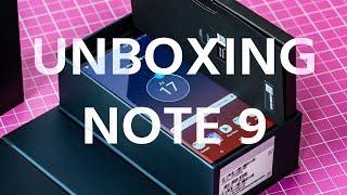 Déballage du GALAXY NOTE 9 : le smartphone avec S Pen