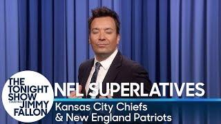 Tonight Show Superlatives: 2018 NFL Season - Chiefs and Patriots