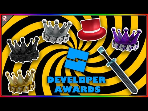 HOW TO GET ALL ROBLOX DEVELOPER AWARDS FOR FREE! (ROBLOX)