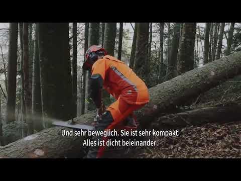 Husqvarna |  Die neue Motorkettensäge 572XP® | Extrem steil in der Schweiz