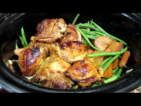 Video How To Make Crock Pot Honey Garlic Chicken