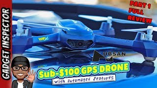 Hubsan H216A X4 Desire Pro Review | Budget FPV GPS Drone | PART 1