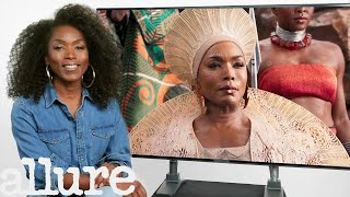 Angela Bassett Breaks Down Her Most Iconic Movie Looks | Pretty Detailed | Allure