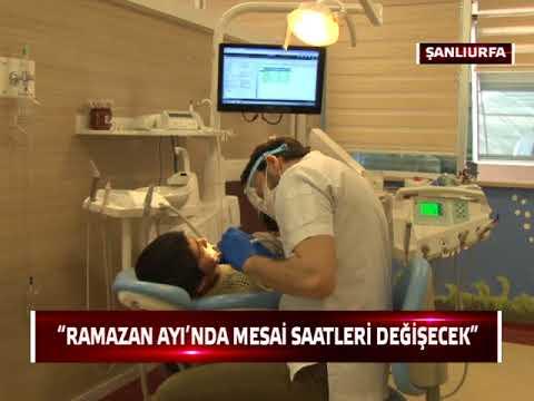 Şanlıurfa'da Ağız ve Diş Sağlığı Hastanelerinin mesaisi değişiyor!
