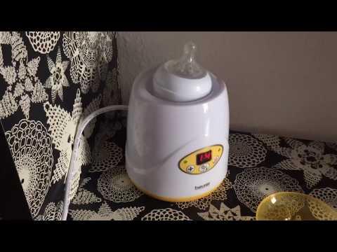 Beurer Flaschenwärmer Digitaler Babykostwärmer BY 52 Flaschenwärmer Badyflaschenwärmer