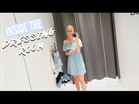 COME IN THE DRESSING ROOM WITH ME!!! | Chanou's Life