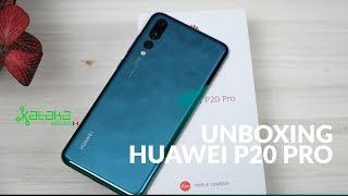 Huawei P20 Pro, UNBOXING en México