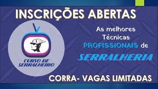 CURSO DE SERRALHERIA ONLINE