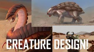 Critique Hour! Creature Design Day 1!