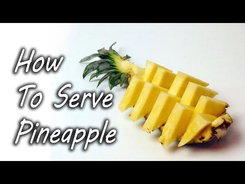 Slik serverer du ananas som en proff