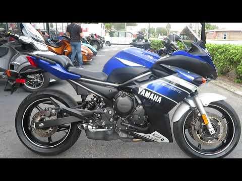 2013 Yamaha FZ6R in Sanford, Florida - Video 1