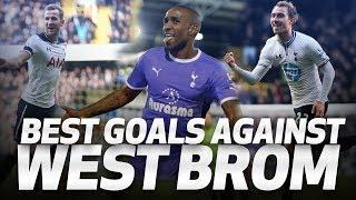 SPURS' BEST GOALS V WEST BROM ⚽
