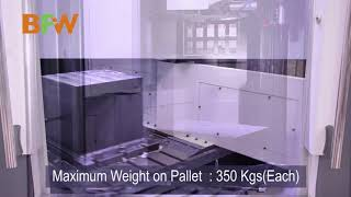 Novell Rotary Pallet Vertical Machining Center
