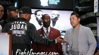 ZAB JUDAH goes off on Oscar De La Hoya & GBP at the GARCIA VS JUDAH Final Presser!