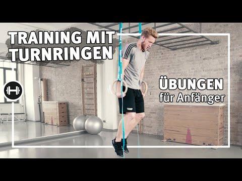 Turnringe Übungen für Anfänger und Fortgeschrittene | Übungen & Workouts | Sport-Thieme