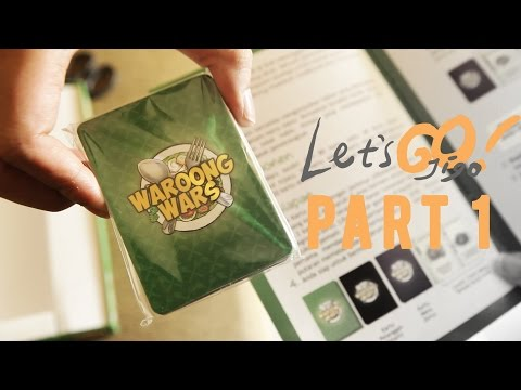 LetsGo Unboxing - Indonesian Board Game Waroong Wars