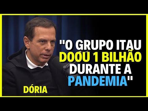 JOÃO DÓRIA FALA DA DOAÇÃO DE EMPRESAS PRIVADAS DURANTE A  PANDEMIA