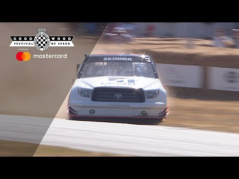 Incredible NASCAR truck save at FOS