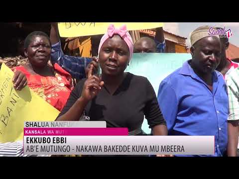 Ab'e Mutungo bavude mu mbeera olw'ekkubo ebbi