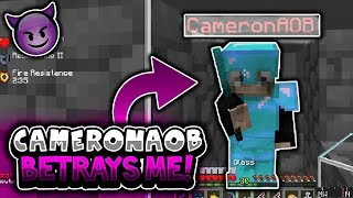 CAMERONAOB BETRAYS ME LIVE IN DISCORD! (INSIDES MY FACTION) - LIVING IN FENCE GATES