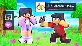 Using The PROPOSAL MOD In Minecraft!